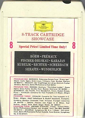 Deutsche Grammophon 8 Track Showcase 8 Track Tape