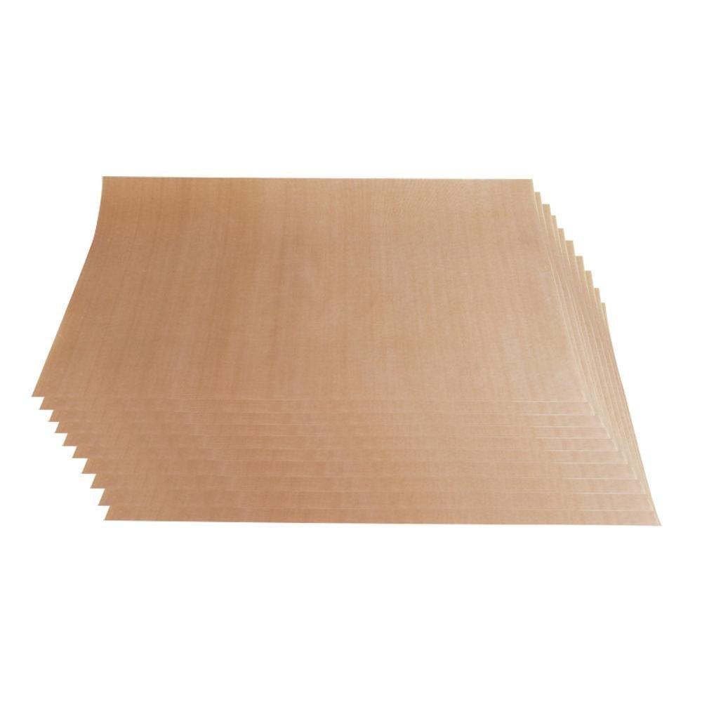 niceeshop(TM) 10 Pack PTFE Teflon Sheet for Heat Press Transfer Sheet Non Stick Heat Resistant Craft Mat 16 X 24