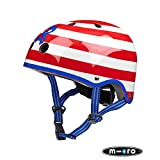 KickBoard USA Micro Helmet - Small Pirate Stripe