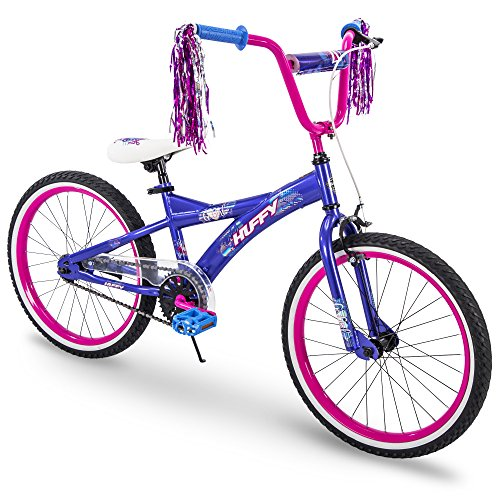 Huffy Kids Bike for Girls, Go Girl 20 inch Pink & Purple (Kids Bike 20 Girls)