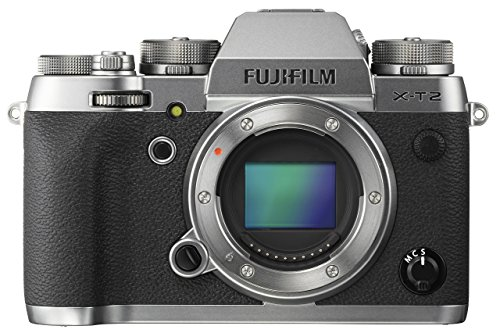 Fujifilm X-T2 Mirrorless Digital Camera Body - Graphite Silver
