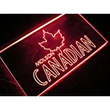 Molson Canadian Beer LED Sign Red by WorldLEDHouse