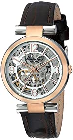 Kenneth Cole New York Women's KC2819 Automatic Silver Rose Gold Strap Watch