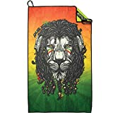 Exalt Paintball Microfiber Goggle Cloth - Team Size - Rasta Lion