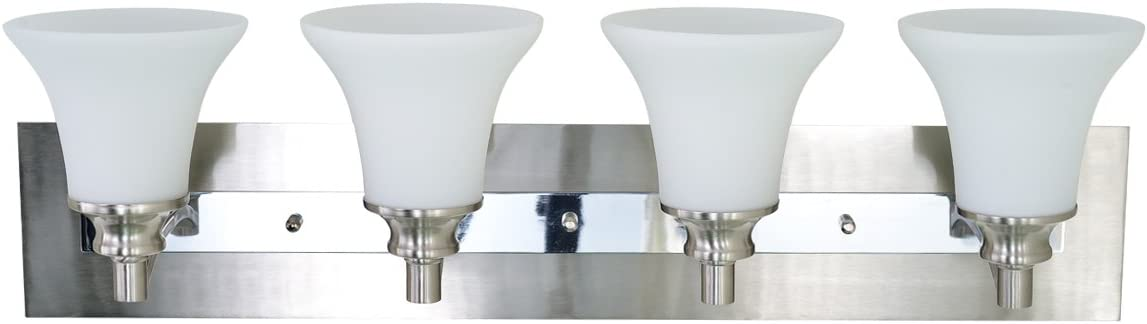 Sunshine Shadow Vanity Lights Wall Light Fixture for Bathroom 4 Lights