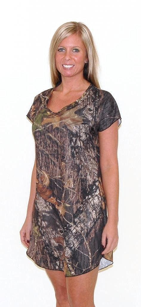 7f3a3608e3 Camo Diva MAGGIE Camo Nightgown at Amazon Women s Clothing store