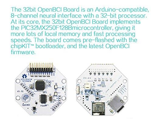 Wirelessly 32bit Board Kit 8-channel neural interface with a 32-bit
