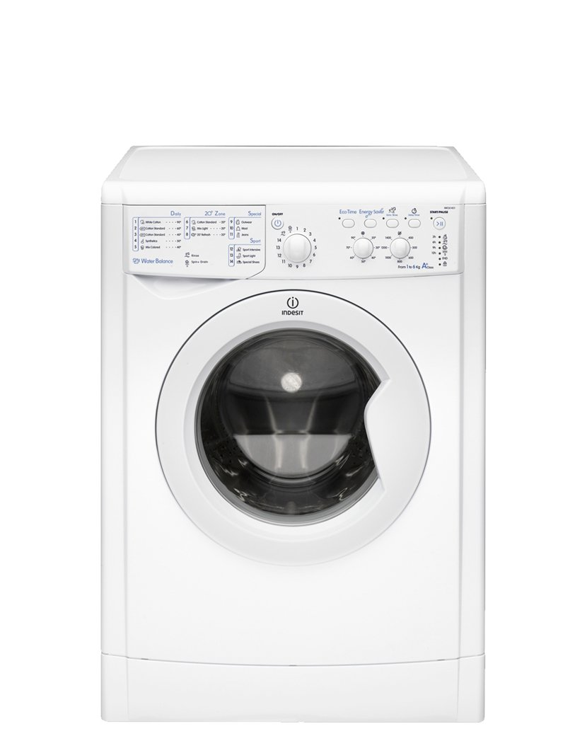 Indesit IWC 61451 ECO Independiente Carga frontal 3kg 1400RPM A+ ...