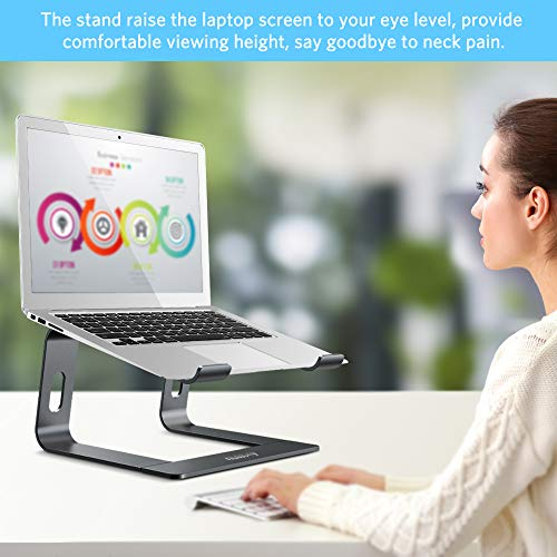 Ergonomic laptop mount