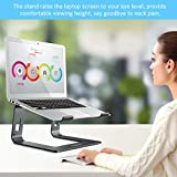 Nulaxy Laptop Stand, Ergonomic Aluminum Laptop