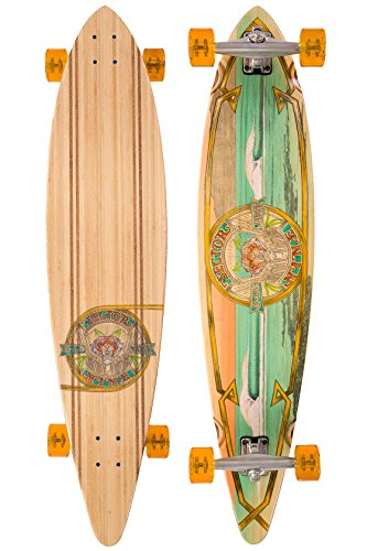 Sector 9 Bamboo G-Land 9.75x44 Complete Longboard Skateboard Bamboo Complete Longboard Skateboard