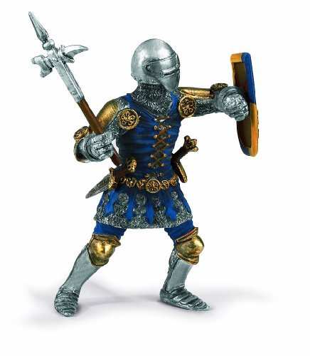 - Schleich Lion Coat of Arms Foot-Soldier with War Hammer