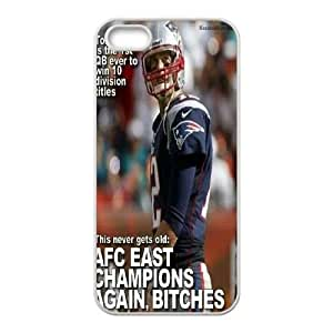 Fggcc Tom Brady Pattern Phone Case for Iphone 5,5S,Tom Brady Iphone 5,5S Case (pattern 13)