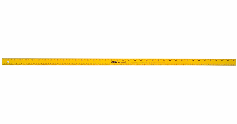 Task Tools T58100 39-Inch Aluminum Yard Stick Yard/Meter - Chalk ... for Full Meter Stick  575lpg