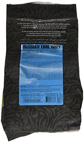 Russian Earl Grey Tea (Metropolitan Tea 200 Count Pyramid Shaped Teabags, Russian Earl)