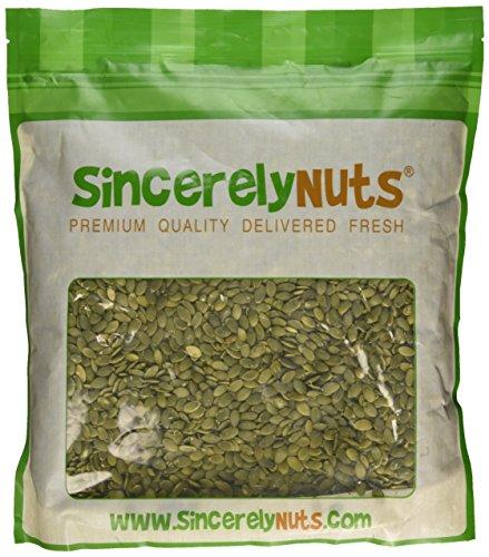 Sincerely Nuts Pumpkin Seeds- Pepitas (Raw) (No Shell) 5LB Bag