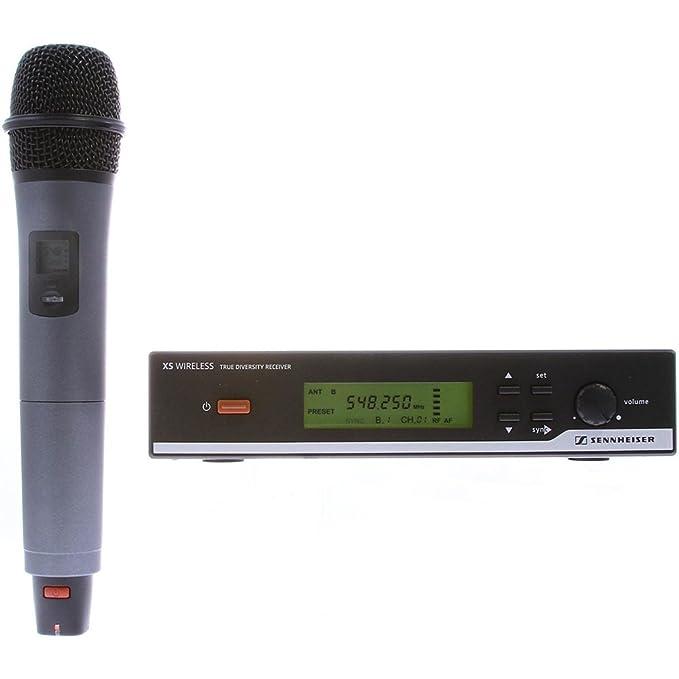 4 opinioni per SENNHEISER XSW 35 microfono Wireless Vocal Set Professionale Cardioide