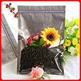 BeesClover 100pcs/lot 18cm26cm160mic Half Clear + VMPET Bags and Packaging Biscuit Bag Self Sealing Bag Show