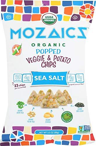 ((NOT A CASE) Organic Popped Veggie & Potato Chips Sea)