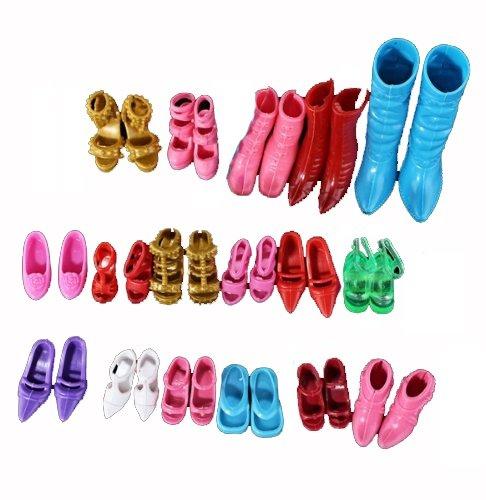 168 opinioni per 12 Paia Scarpe Accessori per Bambole Barbie Vari Colori
