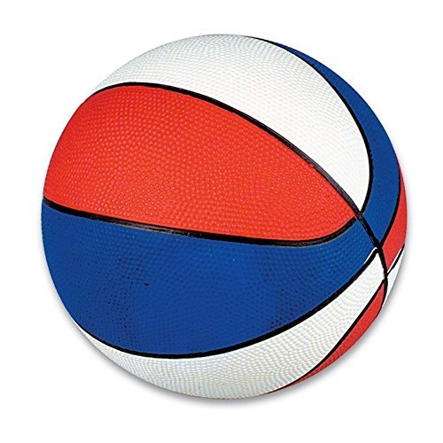 Red White & Blue Mini Basketballs 5-Pack by Rhode Island Novelty