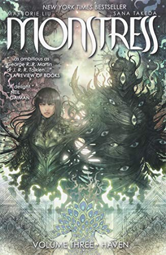 Book cover from Monstress Volume 3 by Marjorie Liu