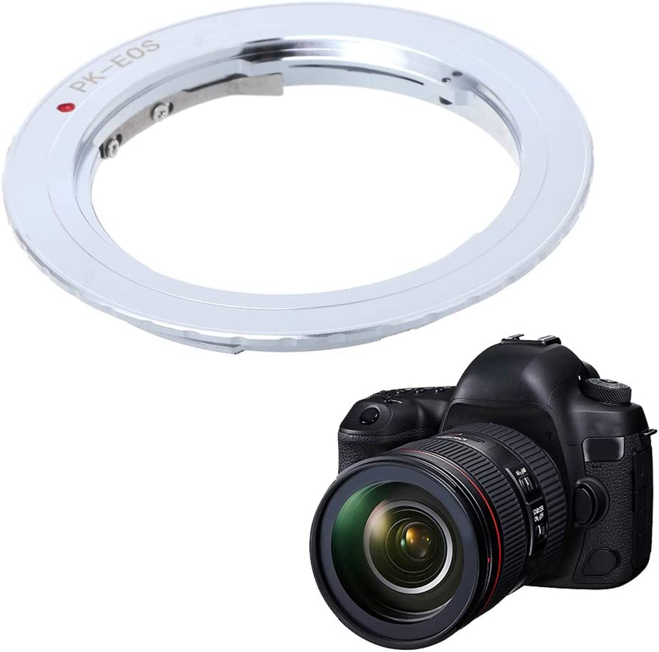 Yuanhaourty PK-EOS Smart Camera Lens Converter Lens Mount Adapter Ring for Lens to Camera