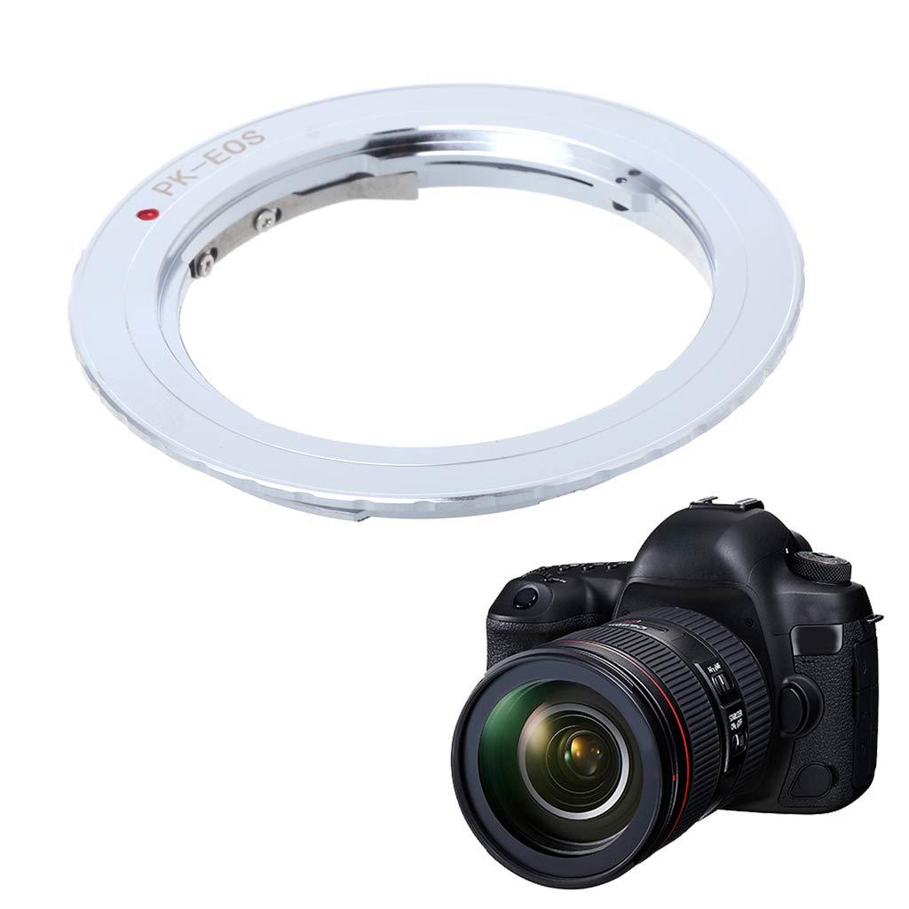 Baodanjiayou PK-EOS Lens Mount Adapter Ring for Pentax Phoenix PK Lens to Canon EF EOS Camera