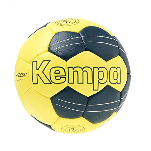 Kempa Ball LEO BASIC PROFILE, gelb/petrol, 2, 200187501
