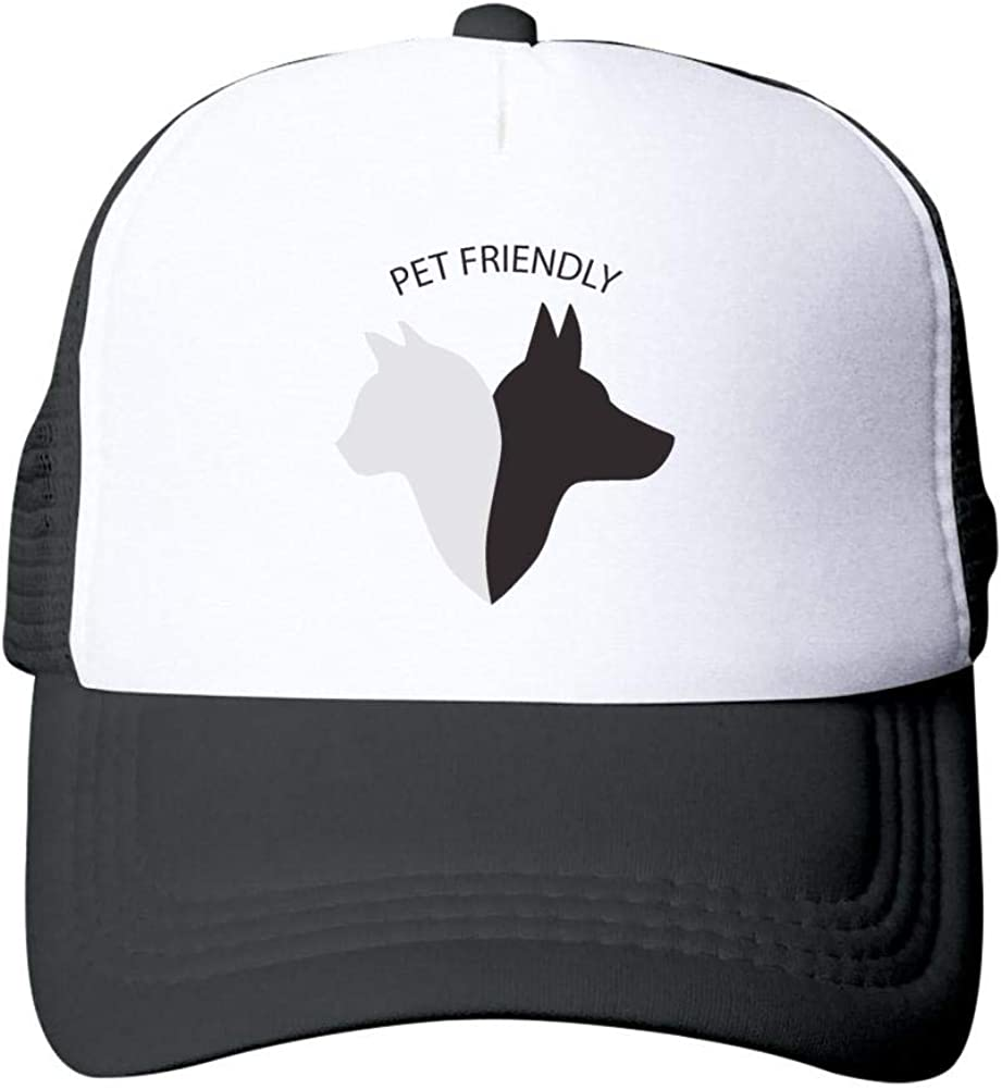 Pet Friendly Design Grande Adult Sun Hat Breathable Mesh Cap for Men and Women Alike