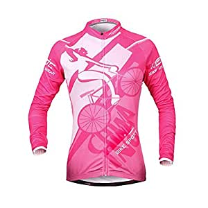 SINEDY 1PC Unique Jersey Long Sleeve Shirt Windproof Santic Let You Feel Well S