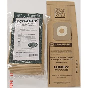 Kirby Part#197301 - Genuine Kirby HEPA Filtration Vacuum Bags Model G6 and Ultimate G, 18 Bags