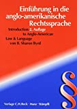 Introduction to Anglo-American Law and Language 9783406472909