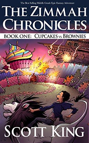 Sugar Coated Cupcake - Cupcakes vs. Brownies: Zimmah Chronicles Book 1