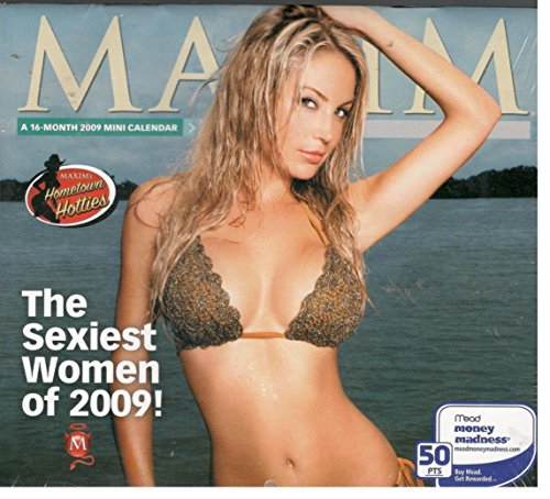 Maxim The Sexiest Women of 2009 Mini Calendar