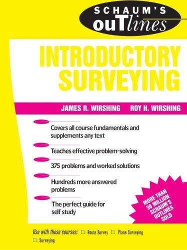 Schaum's Outline of Introductory Surveying (Schaum's) ()