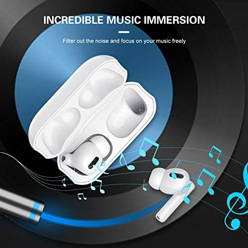Wireless Earbuds,Hobest True Active Noise Cancelling Earbuds,Bluetooth 5.1 ANC in Ear Headphone with Built-in Mics for Immersive Calls&Music,Charging Case,Smart Touch Control,IPX5 Waterproof
