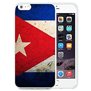 Beautiful And Unique Designed Case For iPhone 6 Plus 5.5 Inch TPU With Cuba Flag Samsung Wallpapers White Phone Case