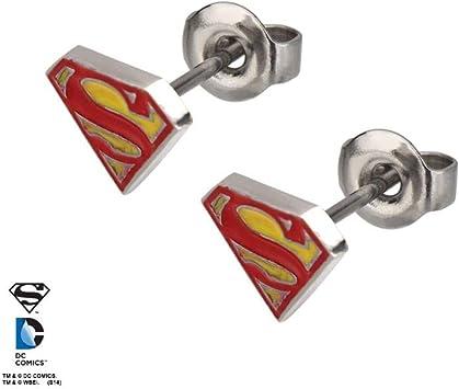 boucle d'oreille superman