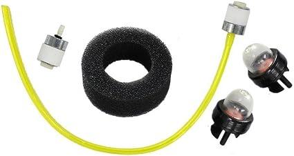 Air Filter Kit For Ryobi 700R 704R 705R 720R 725R 791-180350 791-180350B