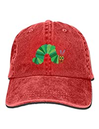 Haipaul The Very Hungry Caterpillar Vintage Adjustable Cowboy Cap Trucker Cap Adult