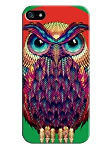 Everything Store DIY Cute Owl Green Phone Hard Bumber Perfect For iPhone 6(4.7 Inch)