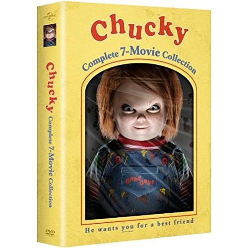 Universal Pictures Home Entertainment Chucky: Complete 7-Movie Collection (DVD) (Bride Of Chucky Tiffany Doll For Sale)