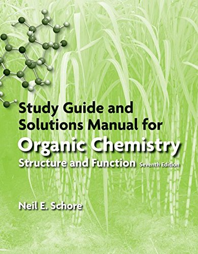 Study Guide/Solutions Manual for Organic Chemistry cover