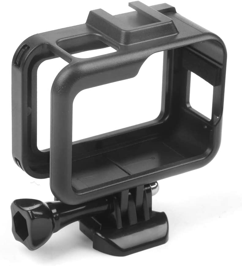 MeterMall Protective Frame for Gopro Hero 8 Action Camera Stable Housing Mount Base Firm Camera Shell Full Body Protection Accessory Electronic Accessories