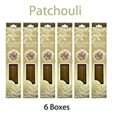 Hosley 300 Incense Sticks / Approx. 300 gm. PATCHOULI Highly Fragranced Incense with Bonus Holder. Hand Fragranced, Infused with Essential Oils. O9
