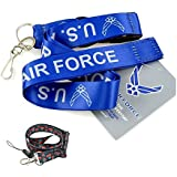 "1 X Official Licensed Products Military NavyBlue ""Air Force"" Lanyards"