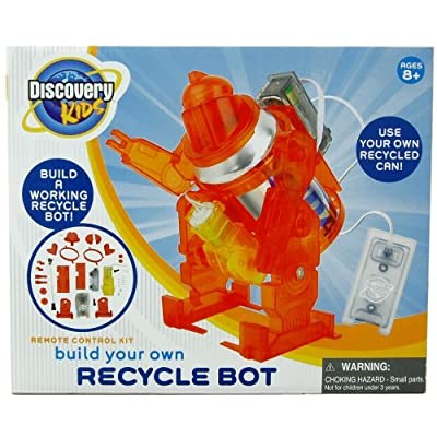 Discovery Kids Recycle Built Your Own Bot Kit: Toys & Games