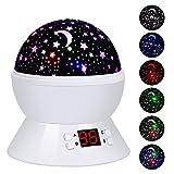 Star Projector, LBell Star Sky Night Light Rotating Cosmos...