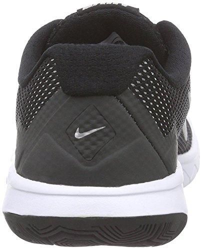 Nike Flex Experience 4 (GS) Scarpe Sportive, Ragazza Blue / Silver / Pink / White (Copa / Metallic Slvr-vvd Pnk-white)